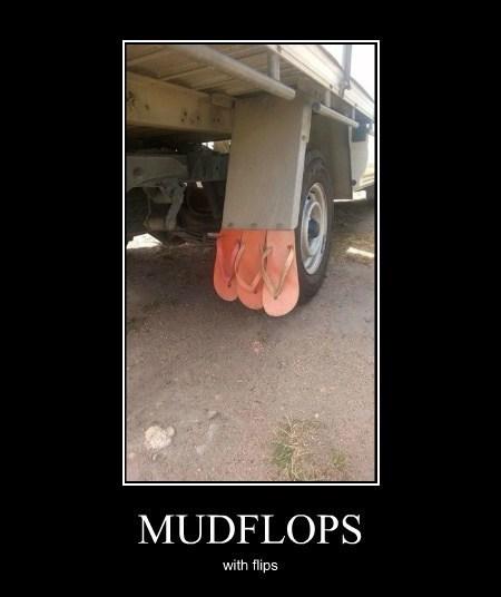 flip flops funny wtf mudflaps - 8116200192
