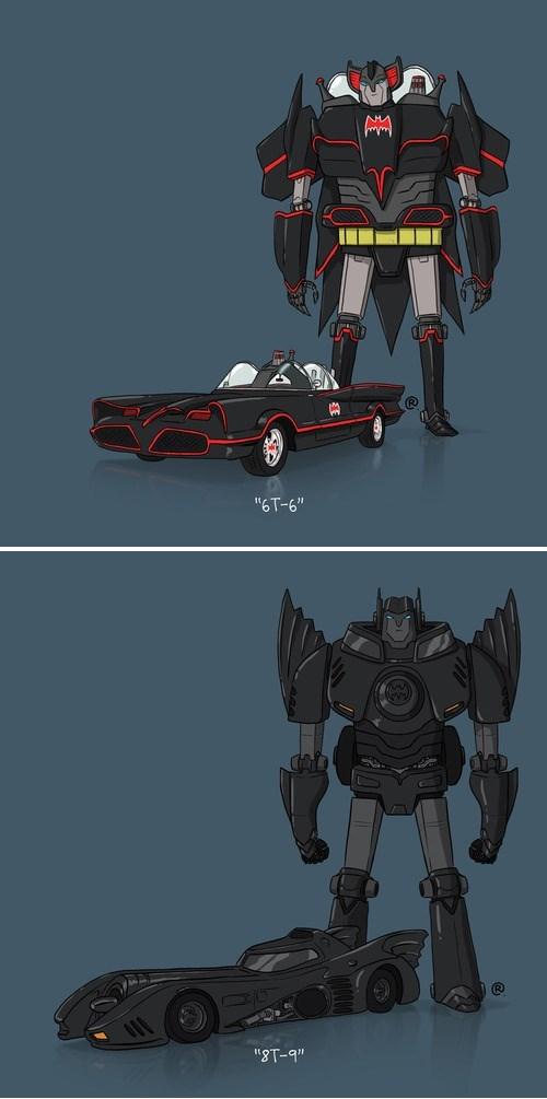 batmobile Fan Art transformers - 8116204288