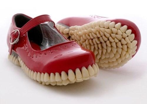 creepy shoes poorly dressed teeth - 8116322816