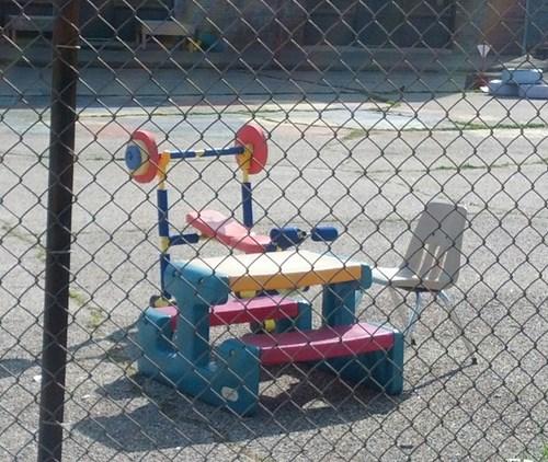 funny weight lifting wtf school yard - 8116339200