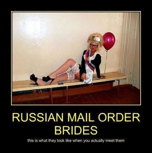 russia mail order bride funny - 8116444928