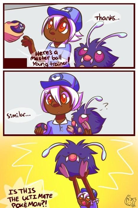 Pokémon master ball venonat - 8116473344