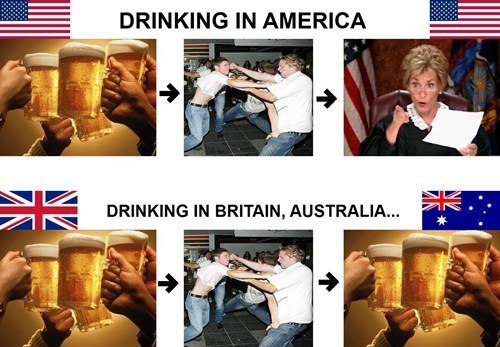 British booze fight funny justice - 8116569088
