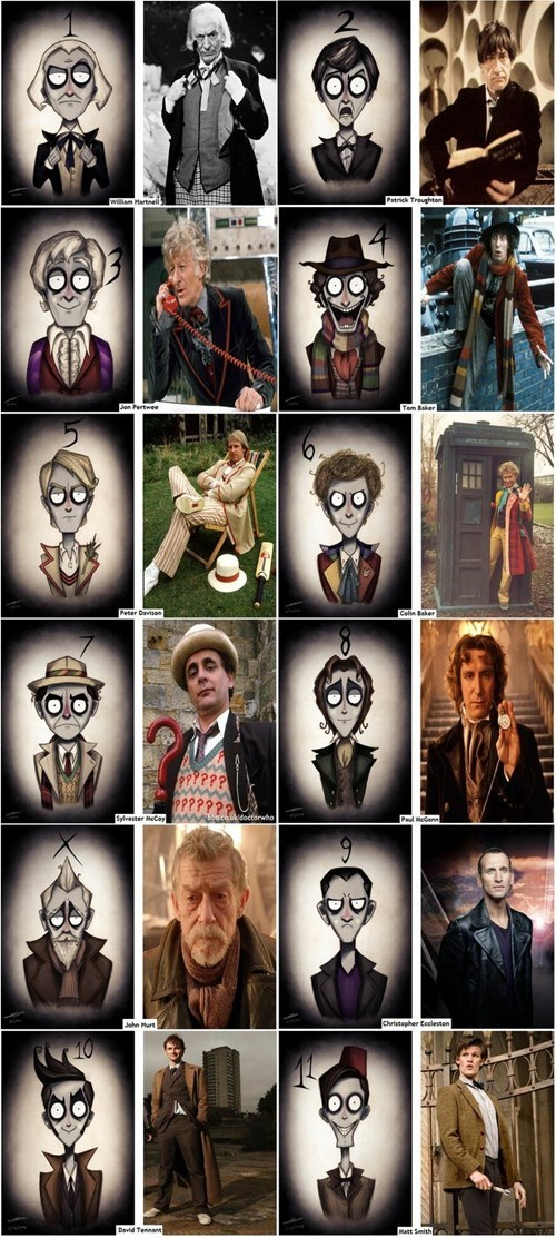 regeneration the doctor tim burton - 8116569600