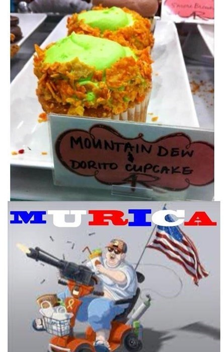 awesome cupcakes doritos funny - 8116588544