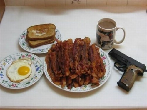 bacon aweosme breakfast guns - 8116605184