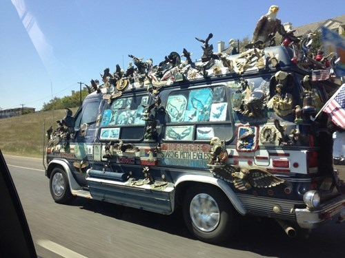 awesome funny van wtf - 8116619520