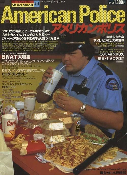 funny police magazine McDonald's wtf - 8116620544