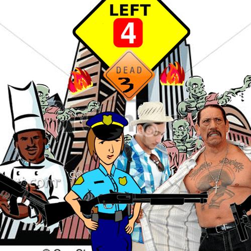 clipart left 4 dead 3 leak - 8116705280
