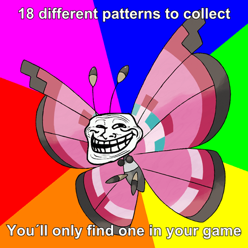 18 different patterns...