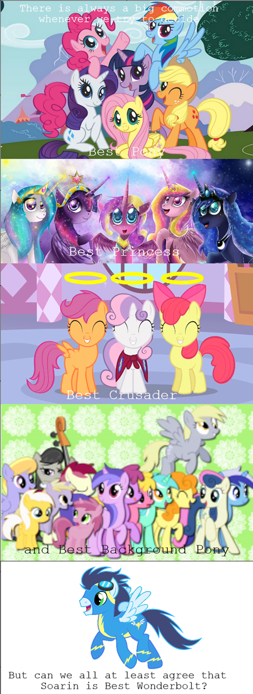 mane 6,soarin,best pony