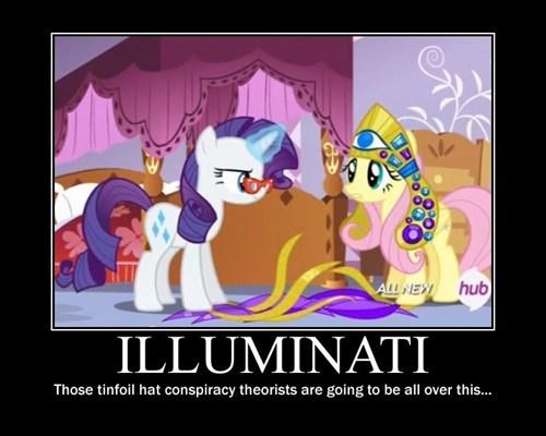 illuminati rarity fluttershy - 8118113792