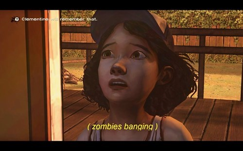 clementine,The Walking Dead