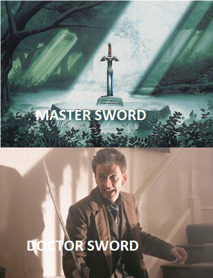 puns doctor who the master master sword - 8118701056