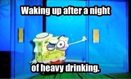 drinking SpongeBob SquarePants cartoons - 8119126016