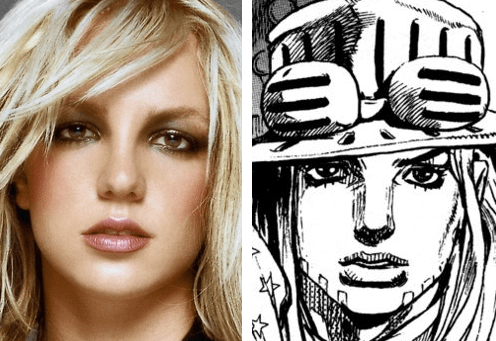 anime britney spears JoJo's Bizarre Adventure - 8119335680