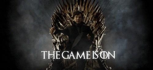 Game of Thrones sherlock bbc Sherlock - 8119337472