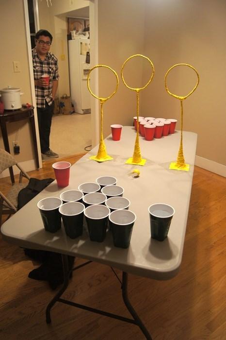 Harry Potter beer pong funny after 12 - 8119514880