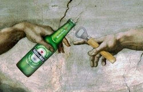 god beer Adam Heineken funny - 8119519488