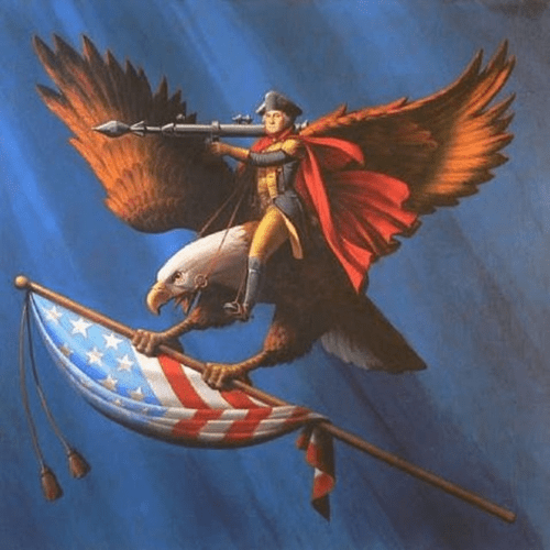 awesome majestic george washington funny