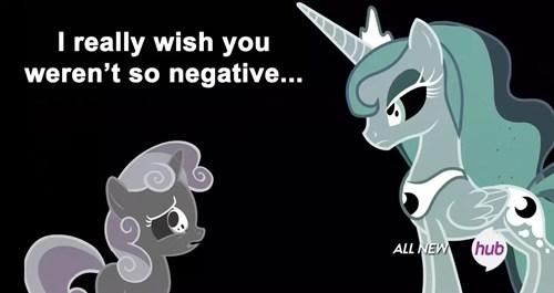 negative Sweetie Belle princess luna - 8119653888