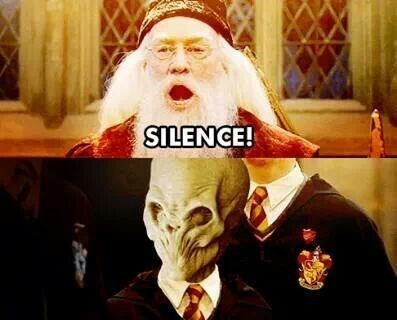 Harry Potter,dumbledore,the silence