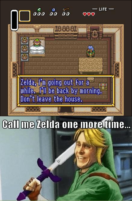 Sad,link,zelda