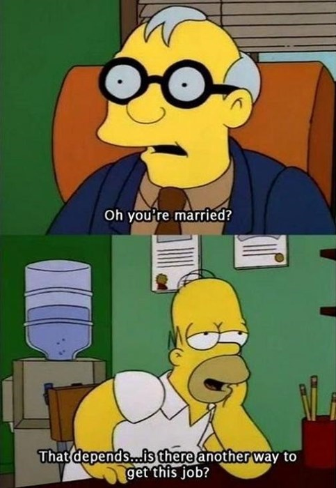 the simpsons married funny - 8119780864