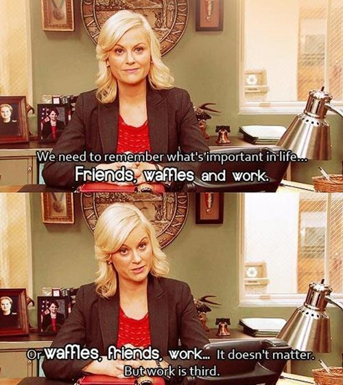 parks and recreation,work,priorities
