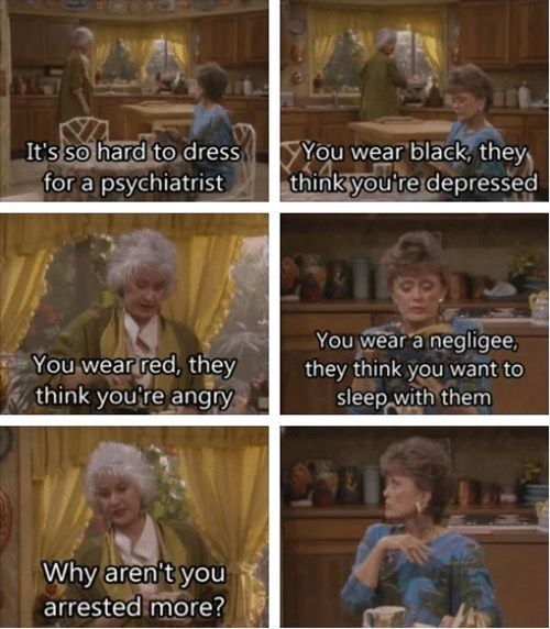 golden girls,clothes,weird