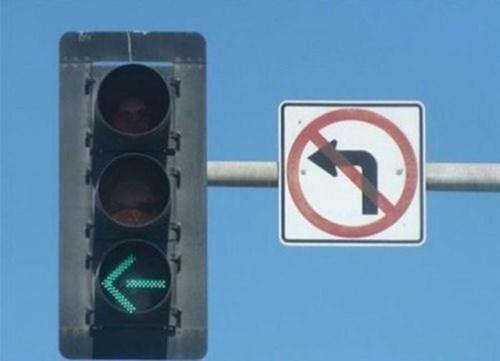driving traffic signs no left turn traffic - 8120475392