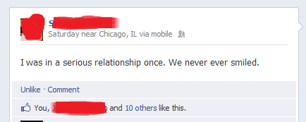relationships facebook serious funny