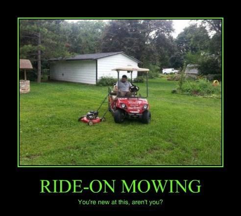 wtf lawnmower idiots funny - 8120577280