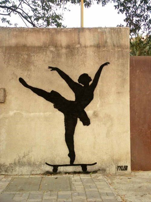 skateboarding Street Art graffiti hacked irl - 8120605184