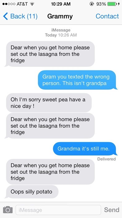 technology grandma texting - 8120616192