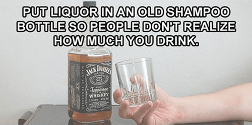 drinking alcohol jack daniels lifehacks - 8120625664
