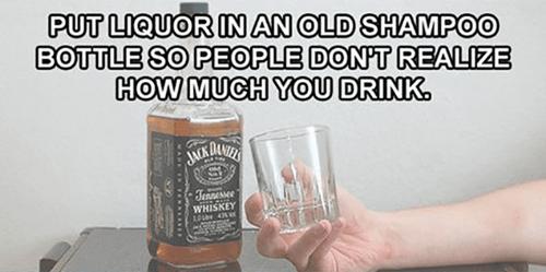 drinking alcohol jack daniels lifehacks - 8120625664
