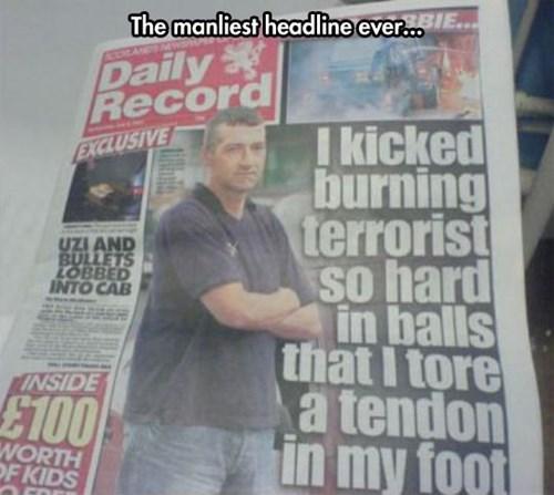 manliness headlines terrorists - 8120672768
