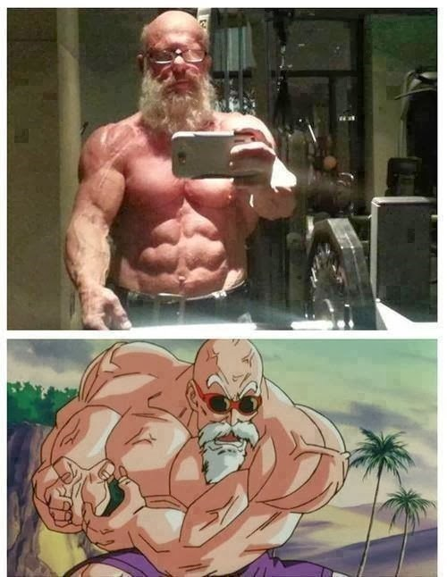 Master Roshi, is That You?