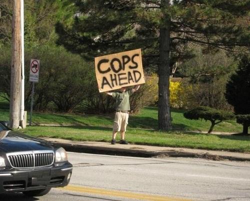 cops random act of kindness warning - 8120771584