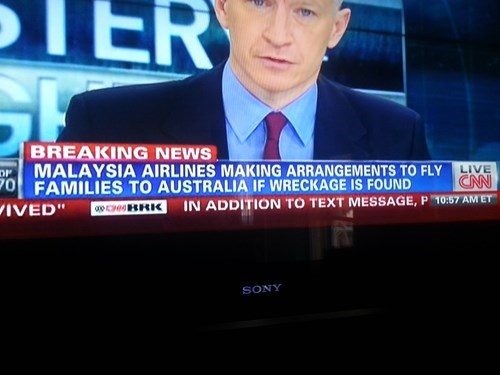 news irony airplane flying