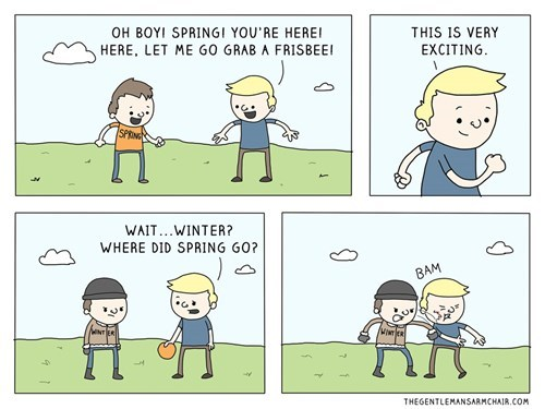 spring comics seasons winter webcomics - 8121700608