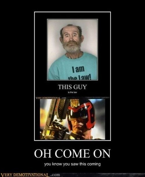 t shirts,judge dredd,funny,law