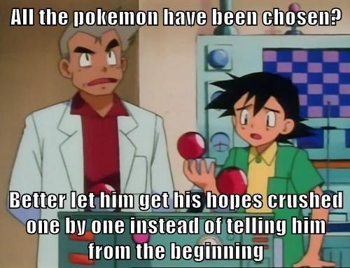 ash anime professor oak Pokémon - 8121750272