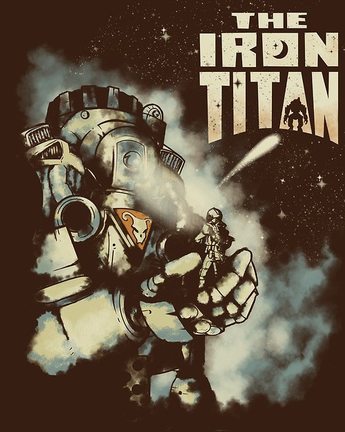 titanfall Fan Art the Iron Giant - 8121772544