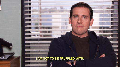 Truffles,the office,confused