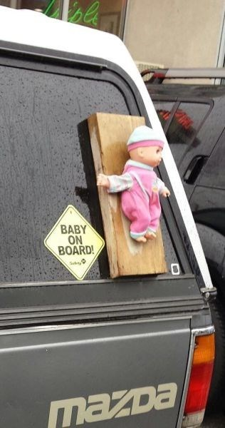baby doll puns parenting baby on board g rated - 8121943808