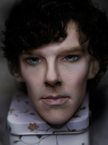 benedict cumberbatch,replica,creepy,Sherlock
