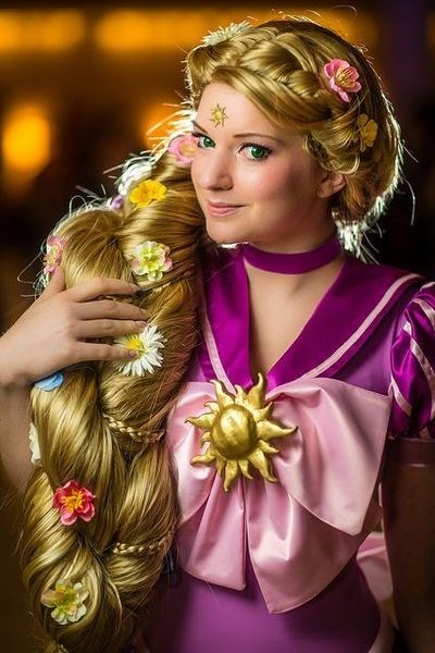 cosplay,tangled,sailor moon