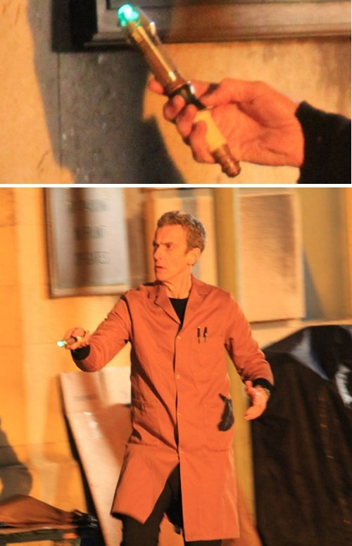 sonic screwdriver,Peter Capaldi,12th Doctor